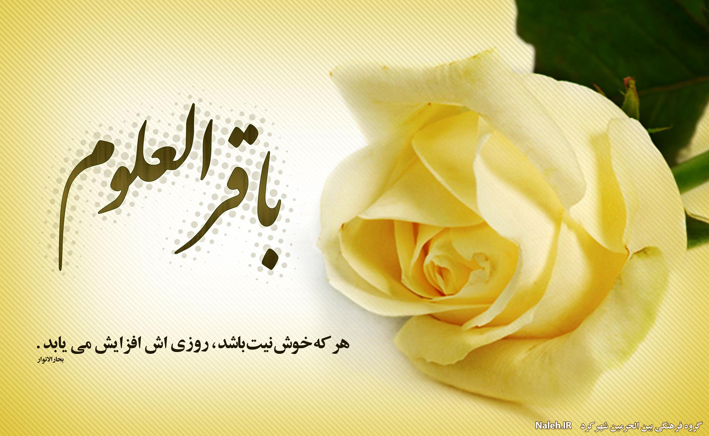 چهل حديث  از امام محمد باقر (ع)